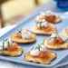 Fresh Corn Blinis with Smoked Salmon and Chive Cream Recipe