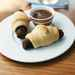 Veggie Piglets in Blankets with Dipping Sauce Recipe