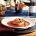 Broiled Salmon with Roasted Tomato Sauce Recipe