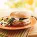 Hominy-Pinto Burgers with Roasted Poblano Chiles Recipe