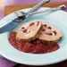 Stuffed Pork Loin with Caramelized Onion-Cranberry Sauce Recipe