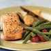 Roasted Salmon with Fresh Vegetables Recipe