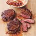 Broiled Tenderloin Steaks with Ginger-Hoisin Glaze Recipe