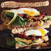 Bacon and Egg Sandwiches with Caramelized Onions and Arugula Recipe
