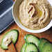 Peanut Butter Hummus with Cucumber Dippers Recipe