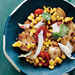 Baby Potatoes with Tomato-Corn Sauté Recipe
