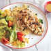 Lemon-Parsley Chicken with Corn and Tomato Salad Recipe