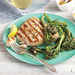 Grilled Tuna and Broccolini with Garlic Drizzle Recipe