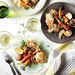 Chicken with Mustard-White Wine Sauce and Spring Vegetables Recipe