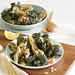 Kale Salad with Grilled Artichokes Recipe