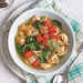 Chicken, Tortellini, and Spinach Soup with Pesto Recipe