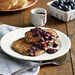 Lemon-Poppy Seed Pancakes with Blueberry Compote Recipe