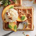Peaches and Cream Waffle Recipe