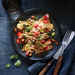 Cheesy Nachos with Pinto Bean Salsa and Pickled Jalapenos Recipe