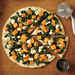Butternut Squash Pizza with White Sauce, Spinach, and Goat Cheese Recipe