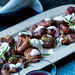 Crispy Smashed Potatoes with Chive Sour Cream Recipe