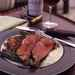 Grilled Prime Aged Sirloin with Garlic-Scallion Potato Cakes and Béarnaise Sauce Recipe