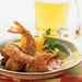 Cornmeal-Cumin-crusted Shrimp with Red Pepper-Chipotle Dipping Sauce Recipe
