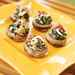 Oyster and Spinach-stuffed Mushrooms Recipe