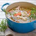 Chicken-and-Vegetable Soup with Herb Dumplings Recipe
