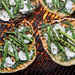 Grilled Asparagus-and-Ricotta Pizzettes Recipe