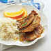 Orange-Ginger Turkey Cutlets with Coconut Rice Recipe