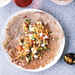 Buckwheat Crêpes with Corn, Tomatoes and Goat Cheese Recipe