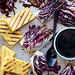 Grilled Polenta and Radicchio with Balsamic Drizzle Recipe
