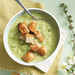Cucumber Gazpacho with Toasted Rye Croutons Recipe