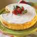 Irish Strawberry-and-Cream Cheesecake Recipe