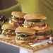 Toasted Pecan, Cranberry, and Gorgonzola Turkey Burgers Recipe