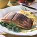 Blackened Salmon With Hash Browns and Green Onions Recipe