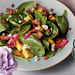 Mango-Spinach Salad with Warm Bacon Vinaigrette Recipe