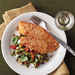Crispy Oven-Baked Tilapia with Lemon-Tomato Fettuccine Recipe