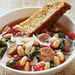 Hearty Italian Soup with Parmesan-Pepper Cornbread Biscotti Recipe