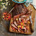 Grilled Molasses Flank Steak with Watermelon Salsa Recipe