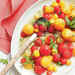 Tipsy Red-and-Yellow Watermelon Salad Recipe