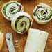 Turkey-and-Spinach Wraps with Cranberry-Walnut-Cream Cheese Spread Recipe