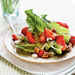 Romaine with Toasted Pecans and Pickled Strawberries Recipe