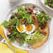 Bistro Salad with Bacon, Eggs, and Mushrooms Recipe