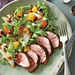 Spice-Rubbed Pork with Roasted Butternut Salad Recipe