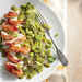 Bacon-Wrapped Chicken with Basil Lima Beans Recipe