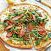 Grilled Sausage Salad Pizza Recipe