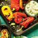 Charred Peppers with Feta Dipping Sauce Recipe