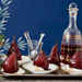 Pomegranate-Poached Pears with Cream Recipe