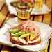 Avocado, Red Onion, and, Prosciutto Sandwiches Recipe