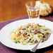 Fettuccine Alfredo with Peas and Prosciutto Recipe