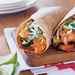 Salmon Burritos with Chile-Roasted Vegetables Recipe