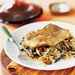 Pan-Roasted Fish on Mushroom-Leek Ragout Recipe