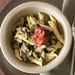 Penne with Oyster Mushrooms, Prosciutto, and Mint Recipe